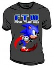 SONIC - For The Win [Charcoal] - T-Shirt (S, XL, 2XL)